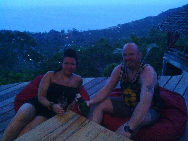 Enjoying Jungle Club, Koh Samui with SAMUI explorer