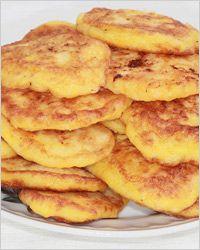 Оладьи из тыквы с сыром