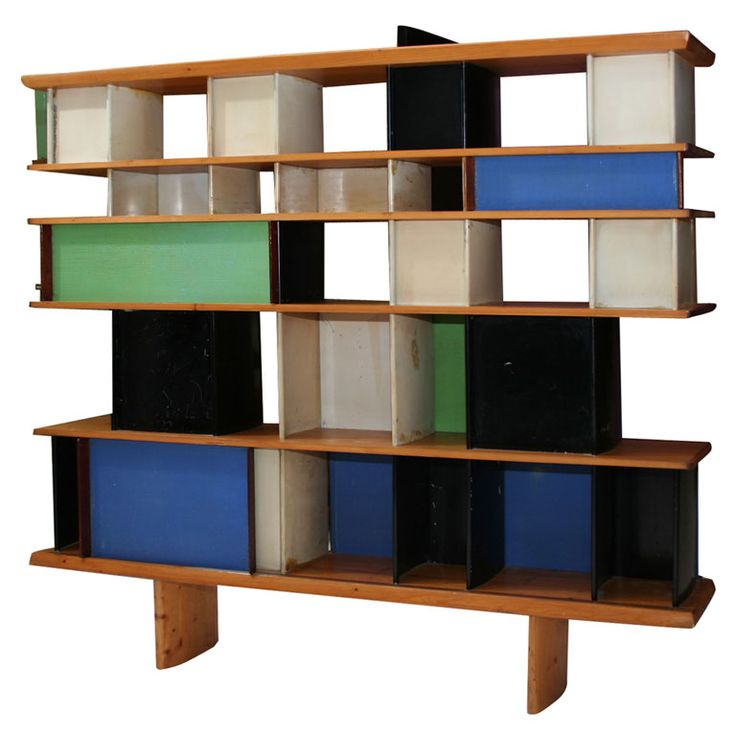 Bibliothèque Mexique - Charlotte Perriand