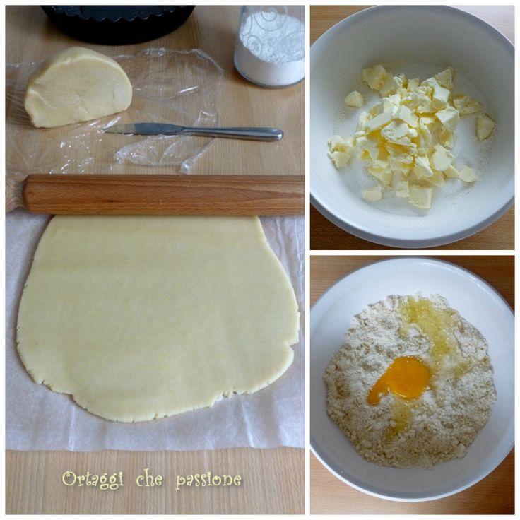 Pasta frolla con fecola  Ortaggi che passione by Sara