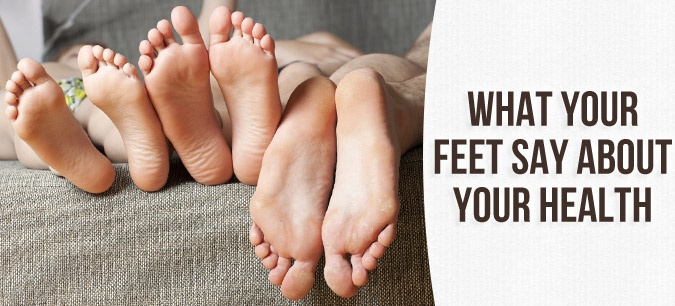 Discolored toenails and odd sensations can point to health problems that seem to have nothing to do with your feet. #health #feet