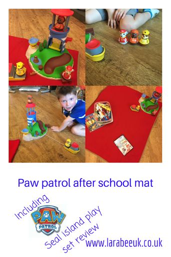 LarabeeUK:  FUN Paw Patrol after school mat and Weebles Pull & Play Seal Island Playset Review