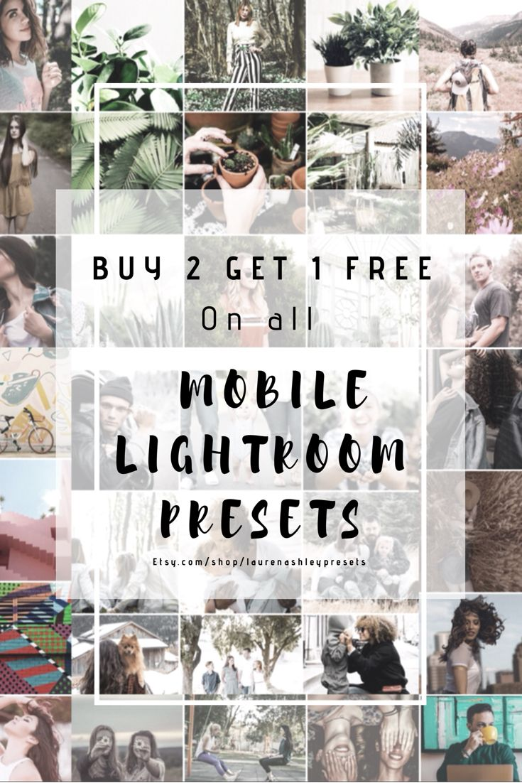 40+ Mobile & Desktop Lightroom Presets for every occasion