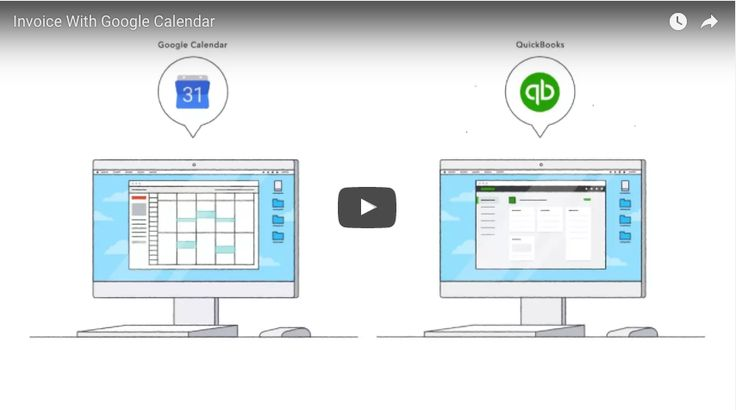 Send Time from Google Calendar to QuickBooks - YouTube Quickbooks