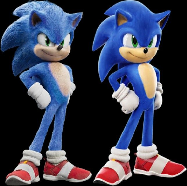 Sonic The Hedgehog Movie Old Shoes