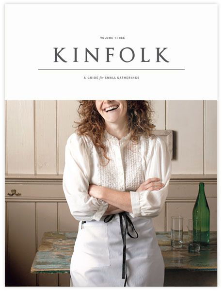 """""""This third volume of Kinfolk explores how we all might benefit from incorporating more of the things we love into our daily routines instead of saving them for the weekend or our next vacation. The essays and personal stories focus on welcoming food, community, and simplicity into our lives as regularly as possible."""""""