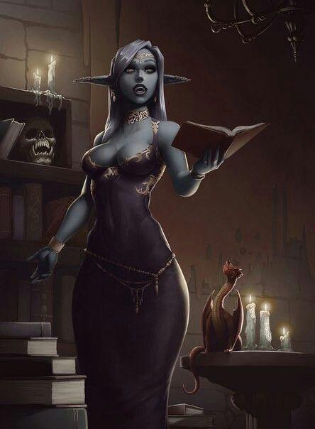 f High Elf Wizard Tower community midlvl Pseudodragon Familiar