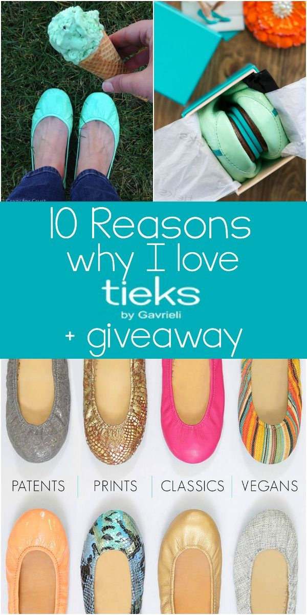 Read this Tieks Review to find out the 10 Reasons Why I love Tieks!