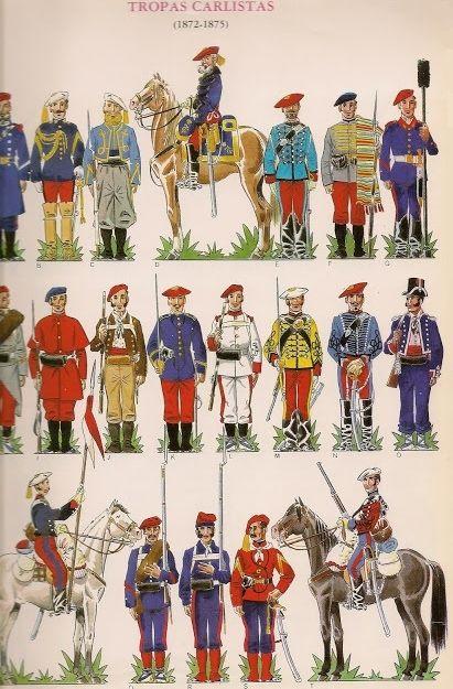 Tropas Carlistas 1872-75