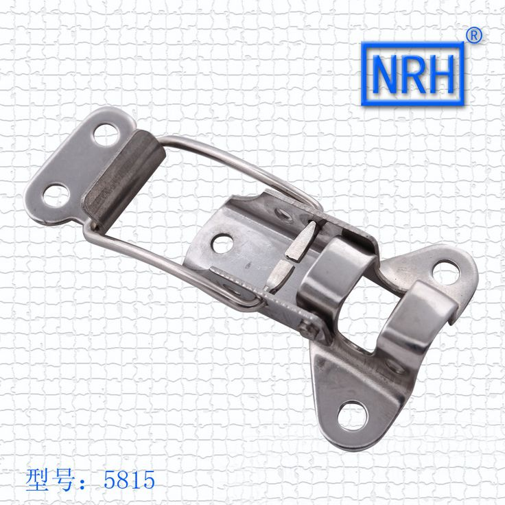 NRH 5815A Stainless steel toggle draw latch a pair of light duty draw latch for rack road case flight case chest hasp
