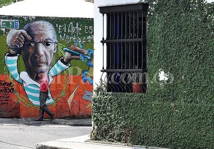 Hermosos colores que ofrece el Barrio San Antonio #Cali