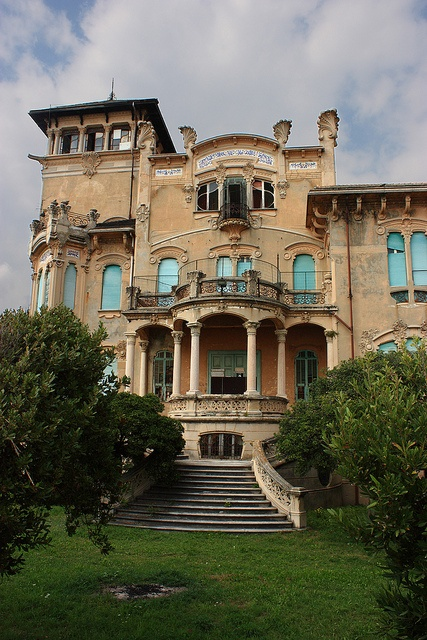 villa liberty savona by Voltaire96, via Flickr