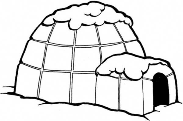 Igloo Coloring Pages Coloring Pages Super Coloring Pages Fruit Coloring Pages