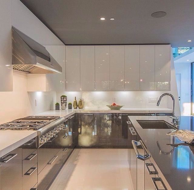 15 Contemporary Kitchen Designs With Stainless Steel: 25+ Best Ideas About Stainless Steel Kitchen On Pinterest