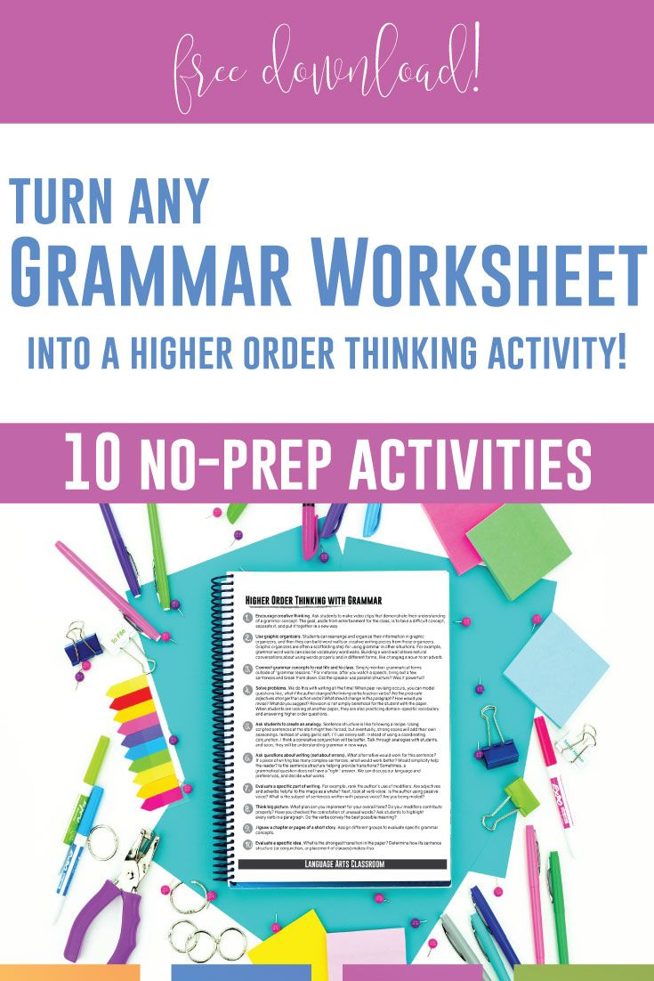 Grammar Activities Grammar Hunts Language Arts Classroom Grammar Worksheets Grammar Activities High School Language Arts [ 1102 x 735 Pixel ]