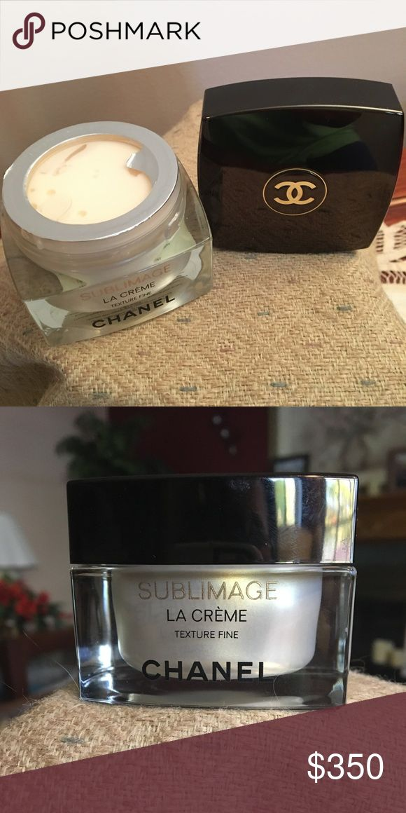 CHANEL Sublimage La Creme Texture Fine Texture fine is a light, fresh anti-aging cream with ultra pure, rare, natural ingredients exclusive to Chanel to restore skin to its most youthful appearance. CHANEL Other