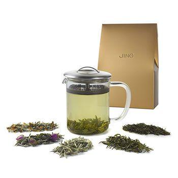 JING White and Green Tea Explorer Set