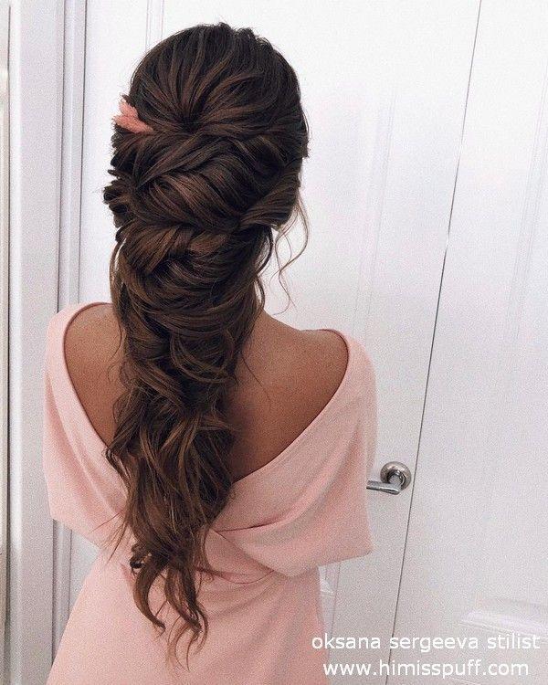 Long wedding hairstyles and updos oksana sergeeva stylist