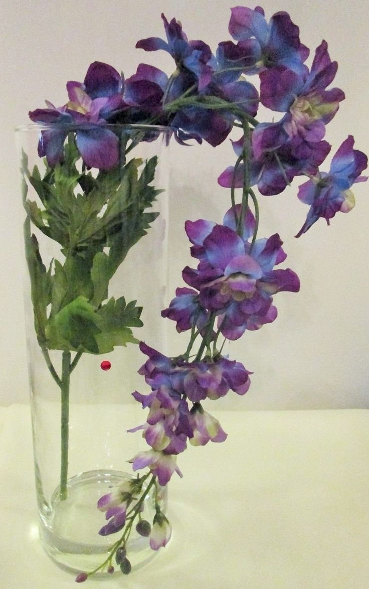 25 great ideas about july birth flowers on pinterest for Flower arrangements with delphinium