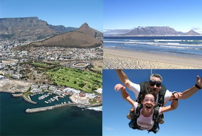 It was AWESOME :) skydive in Cape Town