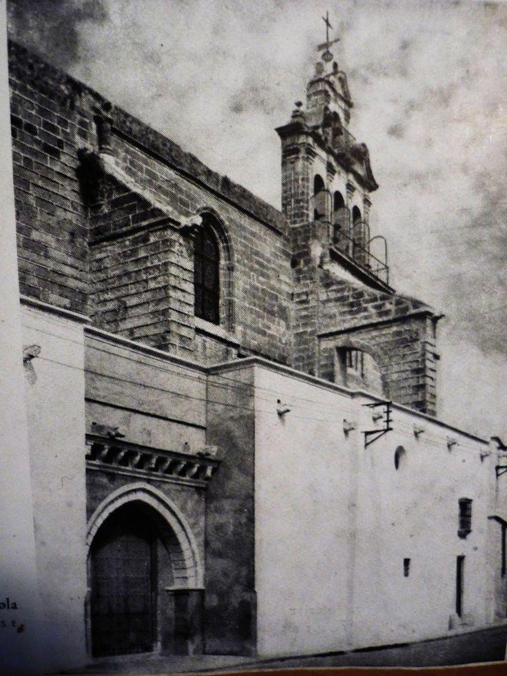 Exteriores de San Marcos a mediados del siglo XX