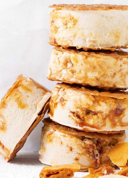 How to make Honeycomb Ice-Cream Sandwiches