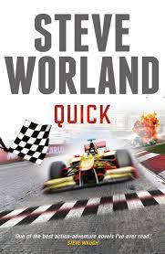 Quick by Steve Worland. Interview by me. #books