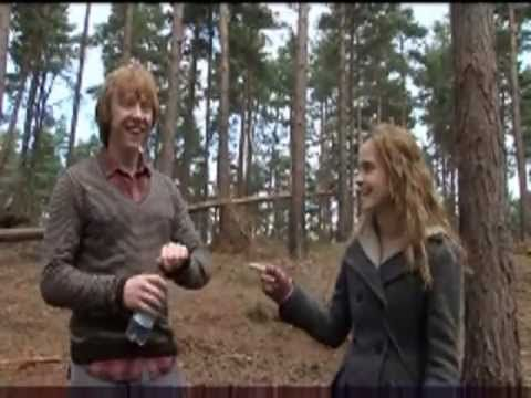 Harry Potter and the Deathly Hallows Bloopers (Part 1) -- this makes me smile