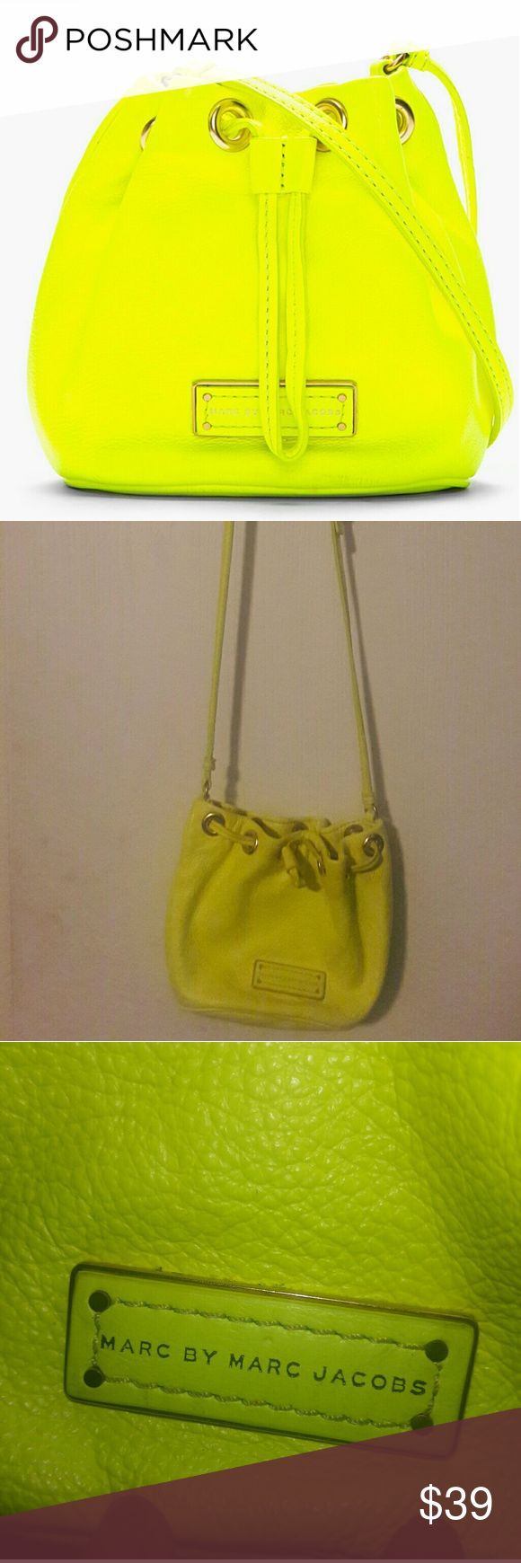 Marc Jacobs purse Fashion Slayer! Mini Neon Crossbody Purse, gently used Marc By Marc Jacobs Bags Crossbody Bags
