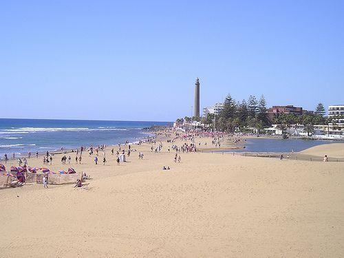 Maspalomas Beach, Gran Canaria, Spain. 19 of the best beaches in Europe: http://www.europealacarte.co.uk/blog/2011/03/28/best-beaches-europ/