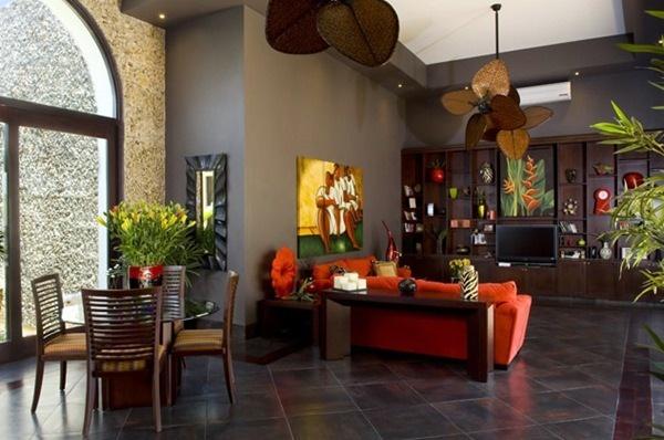 Casa mexicana contempor nea beautiful houses pinterest for Decoracion mexicana