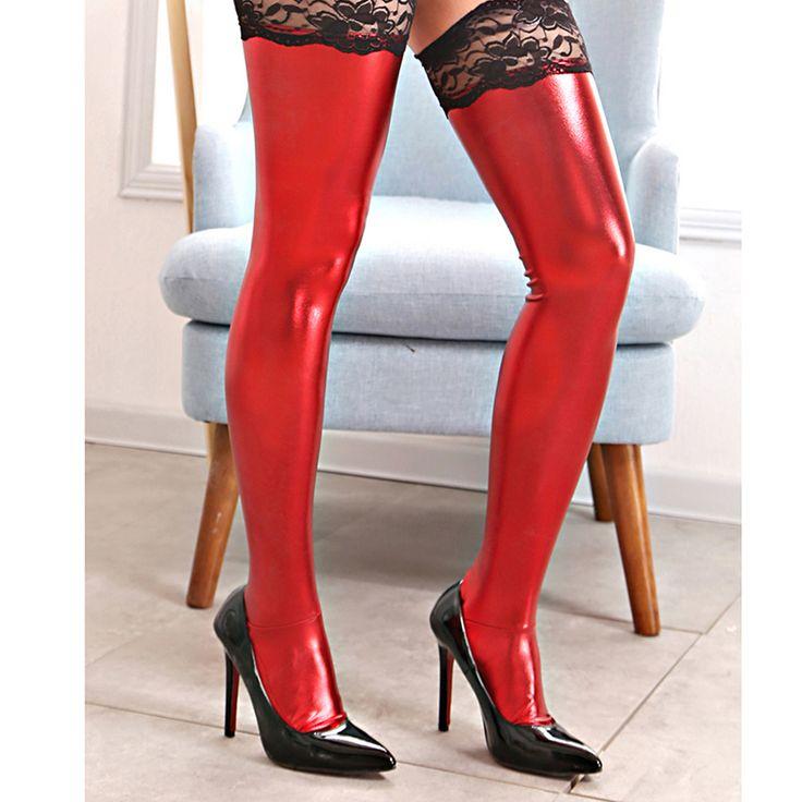אדום Bondage משענות גרבי תחרה הלבשה תחתונה ארוטית פטיש עבדים תלבושות נשיות תחתוני משחק למבוגרים מוצר מין לנשים