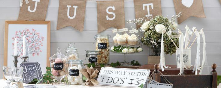 Vintage decoratie voor je bruiloft