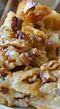 Pecan Pie Bread Pudding More