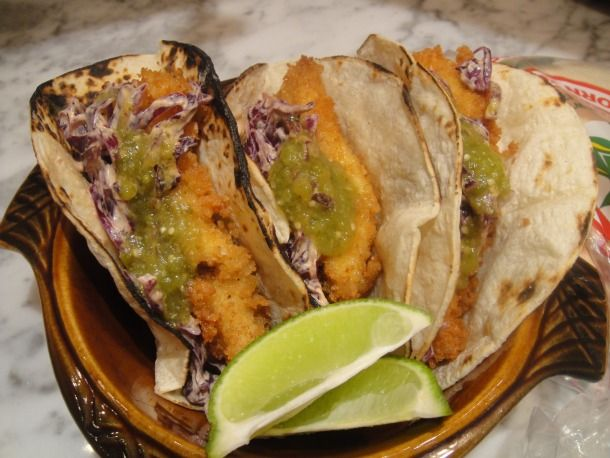 recipes for tacos images | ... the Book: Catfish Tacos with Chipotle Slaw | Serious Eats : Recipes