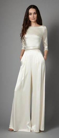 Bridal Collection Catherine Deane Hayden Womens Jumpsuits In