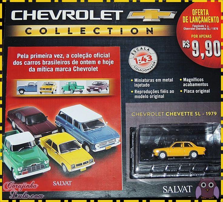 #Coleção de #Carros em #Miniatura da #ChevroletCollection - #Salvat e #Chevrolet