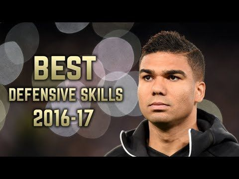 Casemiro 2016-17 | Best Defensive Skills | HD - YouTube