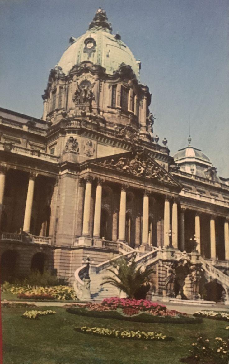 Koninklijk paleis Boedapest, voor de verwoesting
