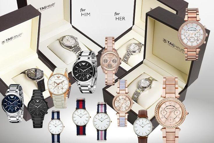 Luxury Mystery Watch Deal for Him or Her - Tag Heuer, Armani, Jacob Ekland & More!
