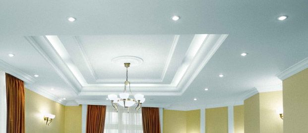 12 best ceiling ideas images on pinterest ceiling ideas for Tray ceiling trim ideas