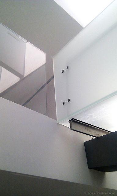 Pasarela de vidrio, Glass walkway   Colegio de Arquitectos de Toledo, España