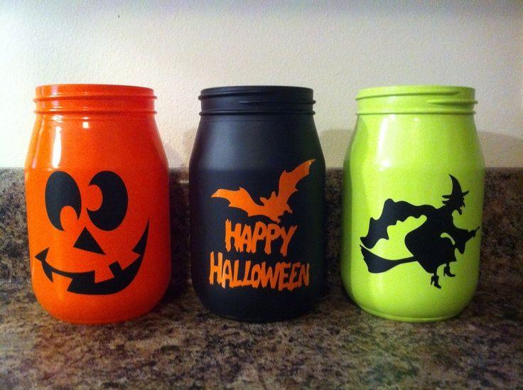 halloween mason jars | Halloween mason jars