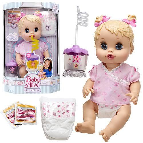 Baby Alive Sip N Slurp That Little Baby Face