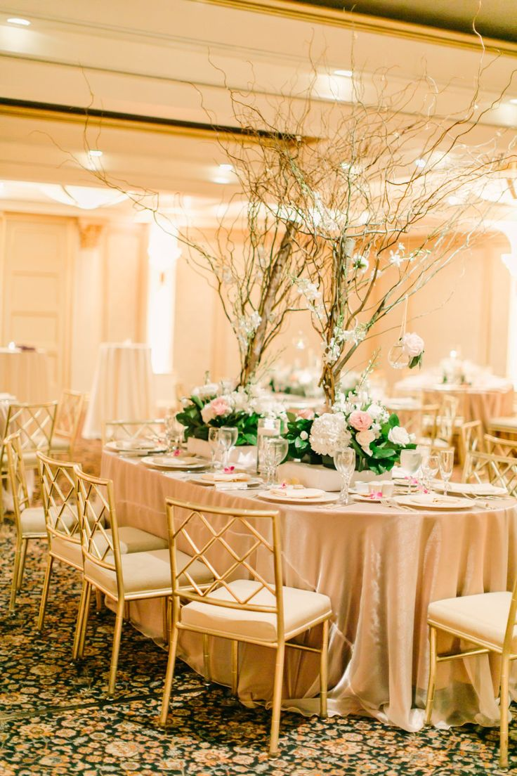 An Ivory, Pink + Rose Gold Ballroom Affair New york