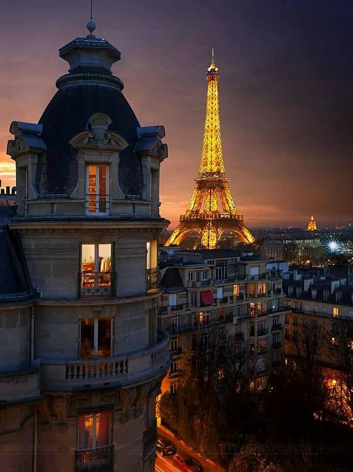 Words cannot describe the beauty of Paris at night.