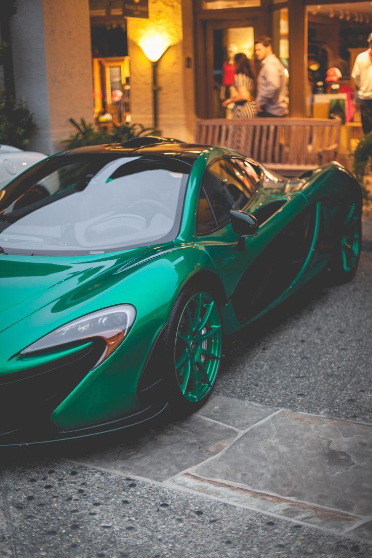 Its a hybrid okay i swear its a green car #mclaren #p1