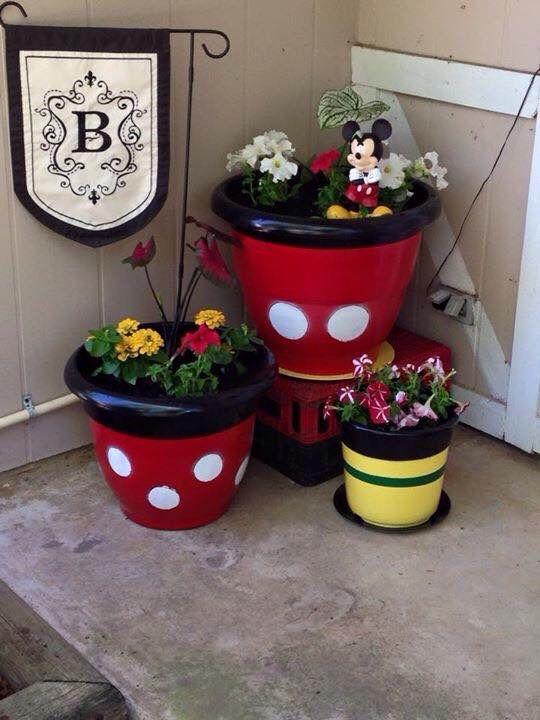 Mickey Mouse Garden