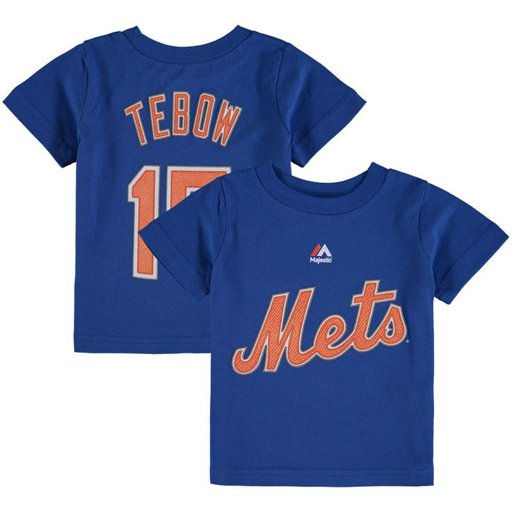Tim Tebow New York Mets Majestic Infant Player Name & Number T-Shirt - Royal - $15.99