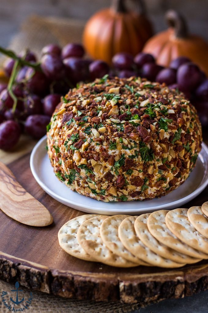 This Jalapeño Bacon Ranch Cheese Ball is the perfect appetizer for your Thanksgiving holiday. It's delicious, only requires a handful of ingredients AND you can make it ahead of time!